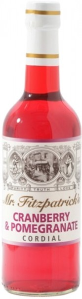 Cranberry & Pomegranate Cordial Sirup