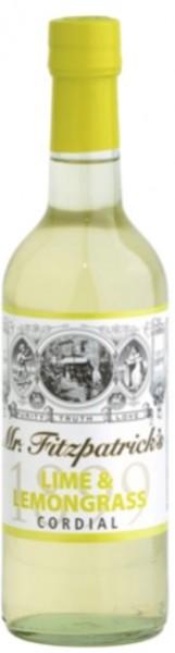 Limette und Zitronengras Cordial Sirup