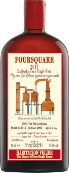 Foursquare 2013/2015 Barbados Pure Single Rum