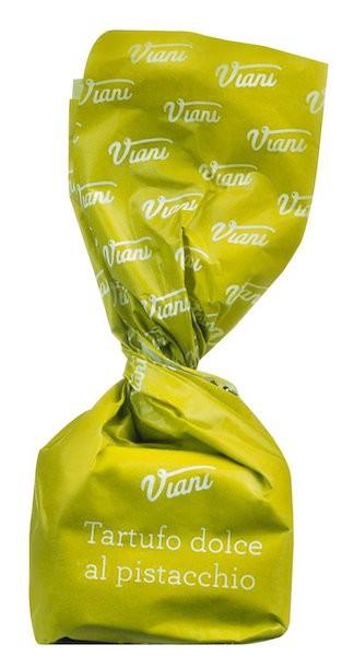 Weiße Schokoladentrüffel mit Pistazien - Tartufi dolci al pistacchio