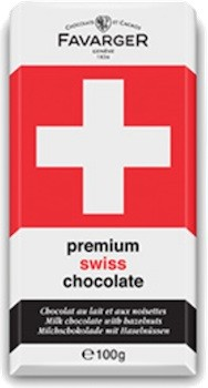 Premium Swiss Noisette Chocolate