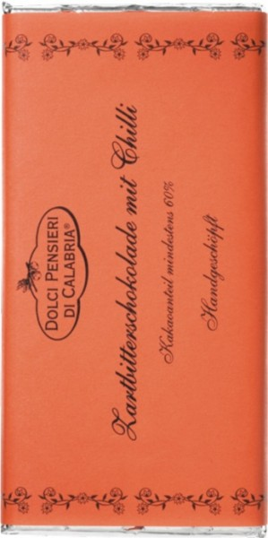 Zartbitterschokolade mit Chili 60%
