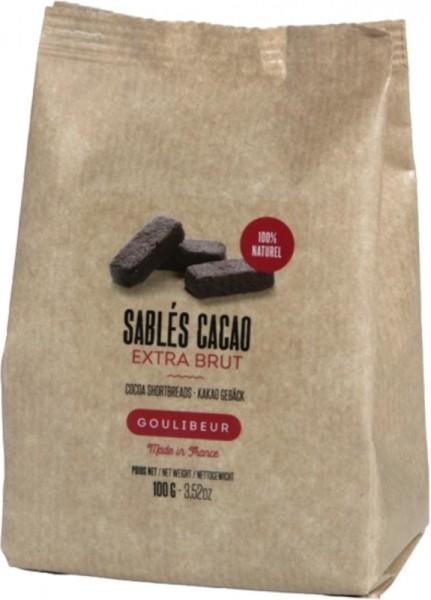 Sablés Cacao - Kakao Gebäck