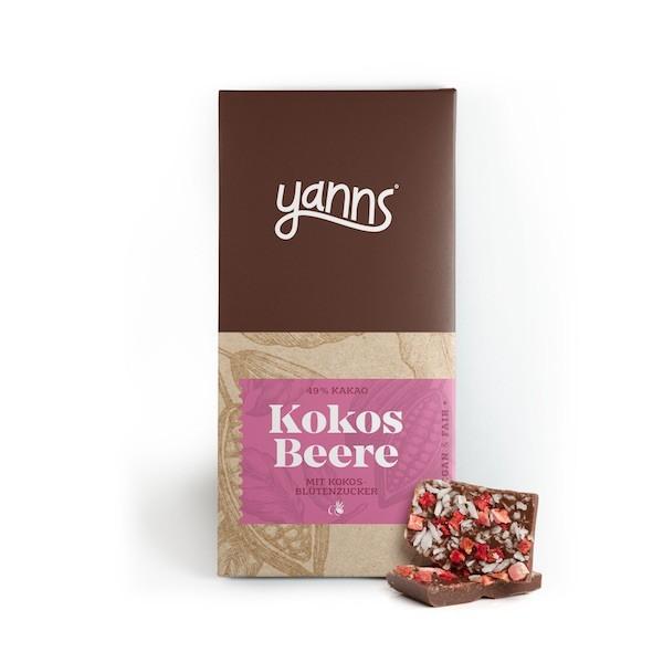 Kokos Beere Schokolade