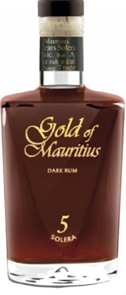 Gold of Mauritius 5 years solera