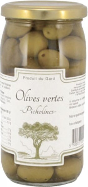 Grüne Oliven Picholine