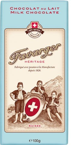 Heritage Milchschokolade mit Rohrzucker