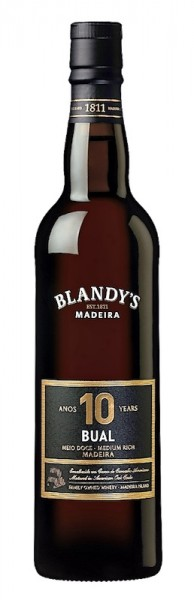 Madeira Bual 10 YO medium rich