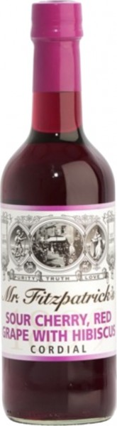 Sour Cherry, Red Grape & Hibiscus Cordial Sirup