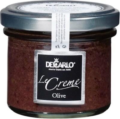 Schwarze Olivencreme