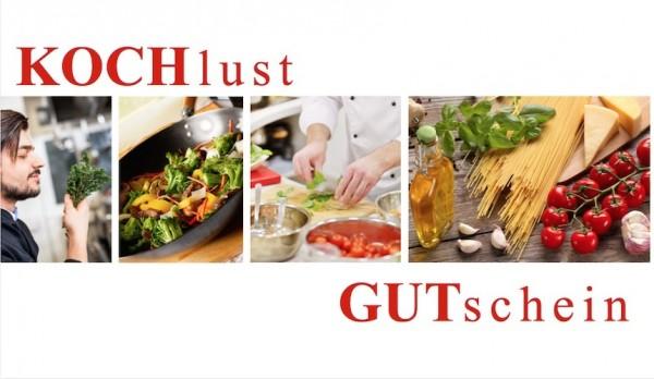Gutschein - Kochkurs nach Wahl EUR 79