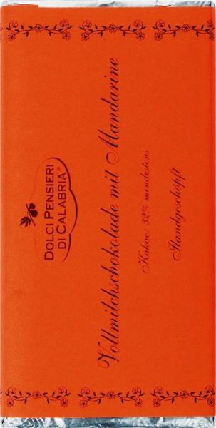 Vollmichschokolade mit Mandarine